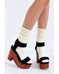 Jeffrey Campbell Mccloud Aw Woodbottom Heel - Lyst