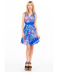 Yumi Kim Blue Wrap Dress - Lyst