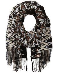 Missoni Black scarves - Lyst