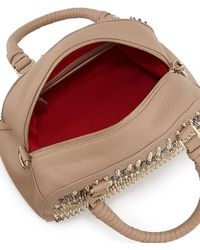 Christian Louboutin Panettone Small Chevron Satchel Bag - Lyst