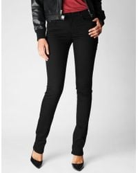 True Religion Cora Mid Rise Straight 32 Womens Jean - Lyst