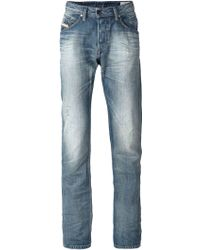 Diesel 'Belther' Tapered Jeans - Lyst