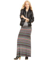 American Rag - Printed Maxi Skirt - Lyst