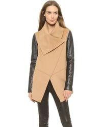 Mackage Vane Wool Jacket Grey - Lyst
