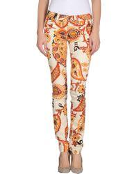 Gucci Casual Trouser beige - Lyst