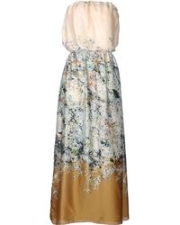 Liis Japan Long Dress - Lyst