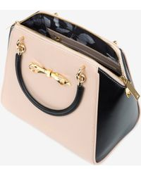 Ted Baker Slim Bow Leather Tote Bag - Lyst