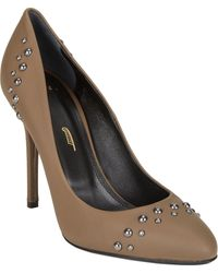 Maiyet Brown Studded Pumps - Lyst