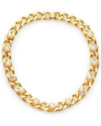 Tory Burch Winchel Chain Collar Necklace - Lyst