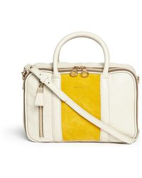 See By Chloé Suede Panel Leather Crossbody Bag - Lyst
