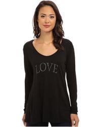 Cj By Cookie Johnson Long Sleeve Boyfriend Shirt - Lyst