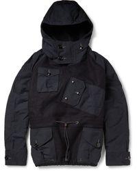 J.Crew Canoe Woolfelt Hooded Pullover Jacket - Lyst