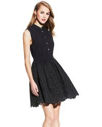 Vince Camuto Sleeveless Two Pocket Dress - Lyst
