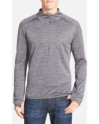 Merrell - 'fraxion' Half Zip Fleece Pullover - Lyst
