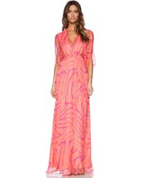 Issa Goddess Maxi Dress - Lyst