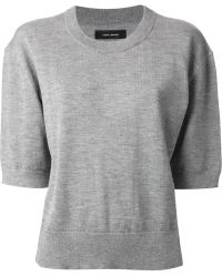 Isabel Marant Short Sleeve Sweater - Lyst