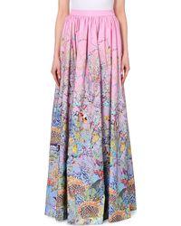 Mary Katrantzou Tree-Print Woven Skirt - For Women multicolor - Lyst