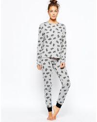 Chelsea Peers - Elephant Pajama Set - Lyst