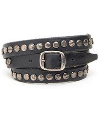 Will Leather Goods - 'laurel' Wrap Bracelet - Lyst
