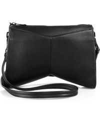 Narciso Rodriguez Boomerang Shoulder Bag - Lyst