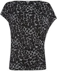 Armani Leopard Print Top - Lyst