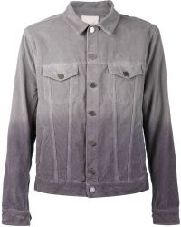 Band Of Outsiders Corduroy Trucker Jacket - Lyst
