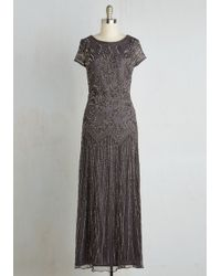 Pisarro Nights - Acclaim It As Your Own Dress In Slate - Lyst