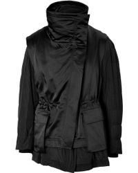 Donna Karan New York Double-Layer Jacket - Lyst