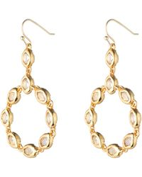Alexis Bittar Moonlight Circle Drop Earring - Lyst