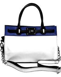 Chez By Cheryl Handbags Alessia Leather Handbag - Lyst