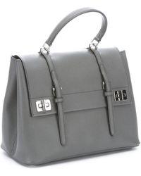 prada bags online usa - prada double bag caramel/marble gray