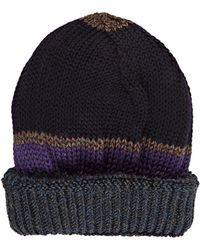 Inis Meáin - Mixed-stitch Beanie - Lyst