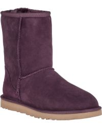 Ugg | Classic Short Suede Boots | Lyst