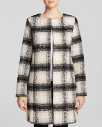 Glamorous Coat - Checked - Lyst