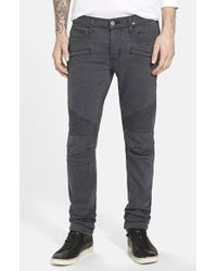 Hudson Men'S 'Blinder' Skinny Fit Moto Jeans - Lyst