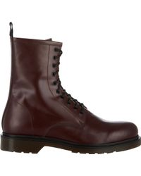 Barneys New York Side-zip Boots - Lyst