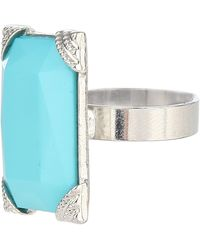 Jane Norman Statement Gem Ring - Lyst