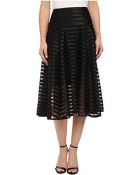 Nanette Lepore Transparency Skirt - Lyst