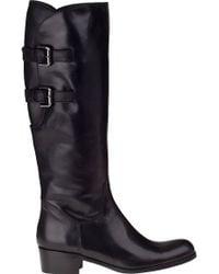 Sesto Meucci For Jildor Boomer Riding Boot Black Leather - Lyst