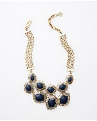 Ann Taylor Cosmos Statement Necklace - Lyst
