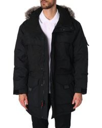 The North Face Mcmurdo Black Parka 2 - Lyst