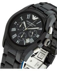 Emporio Armani - Ceramic Watch - Lyst