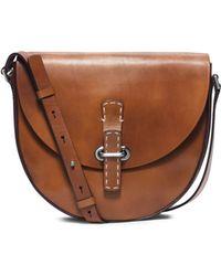Michael Kors Claire Medium Leather Crossbody - Lyst