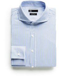 Mango Classic Fit Tailored Bengal Stripe Shirt - Lyst
