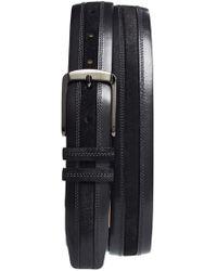 Mezlan   'diver Crosta' Leather Belt   Lyst