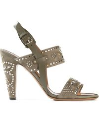 Valentino 'Microstud' Sandals - Lyst