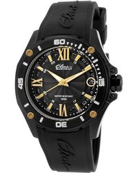 Elini Barokas - Artisan Black Silicone And Dial Gold-tone Accents - Lyst