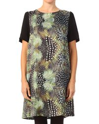 Louche Pencil Dress - Woody Feather - Lyst