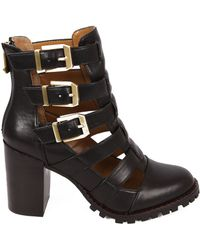 Report Signature Ashtin Leather Ankle Boots - Lyst