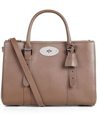 Mulberry Bayswater Double Zip Shiny Goat Tote - Lyst
